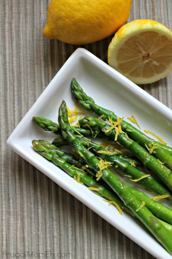 Lemon Butter Asparagus