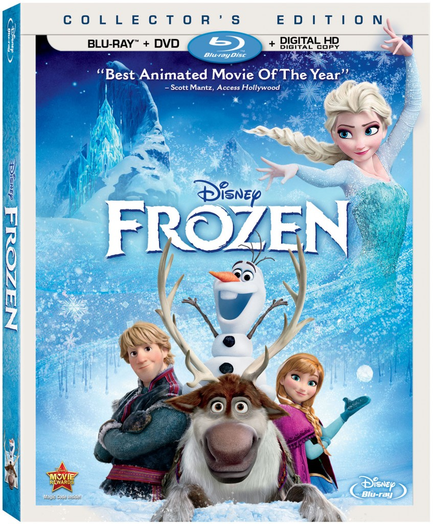 Disney's Frozen on Blu-ray Combo Pack