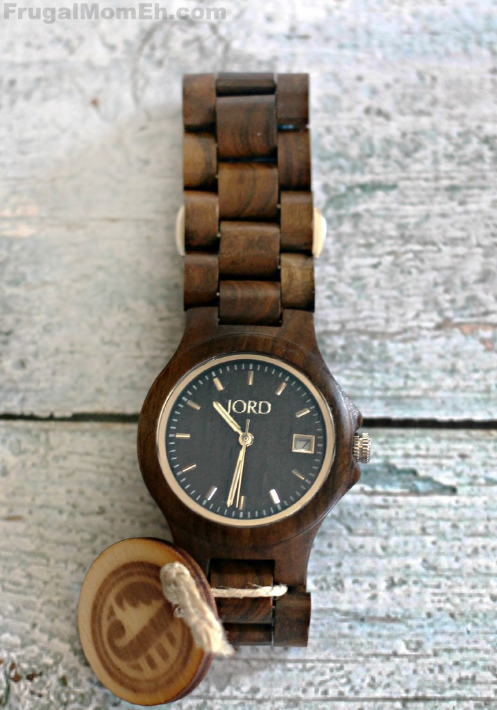 JORD Wood Watch in Ely in Black