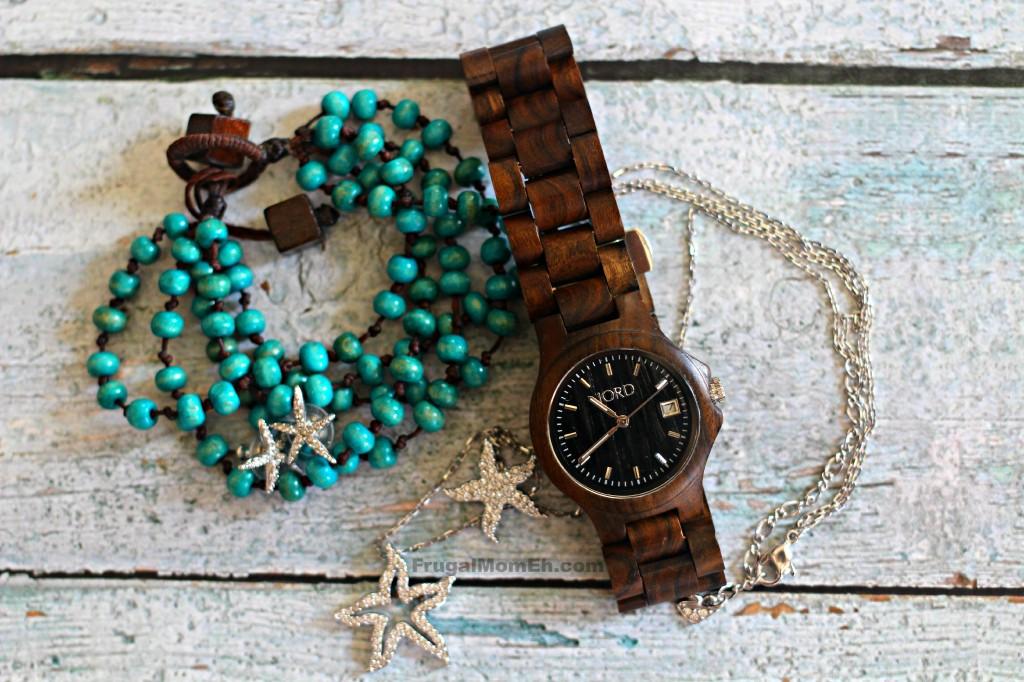 JORD Wood Watch in Ely in Black