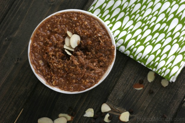Peanut Butter & Chocolate Almond Oatmeal