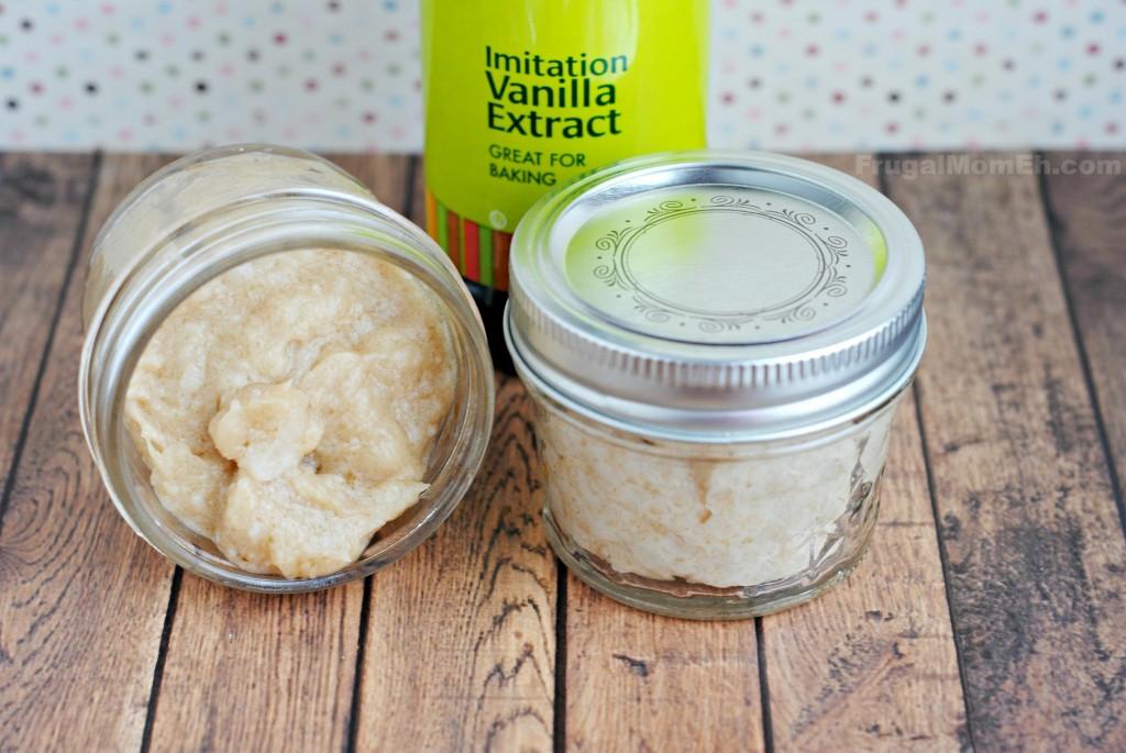DIY Vanilla Body Scrub