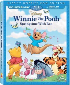 Winnie the Pooh:  Springtime with Roo Blu-Ray Combo Review