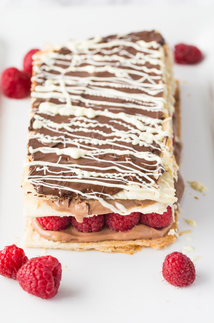 Chocolate And Raspberry Napoleon Frugal Mom Eh