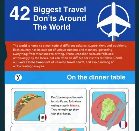 42 of the Biggest Travel Don'ts Around The World