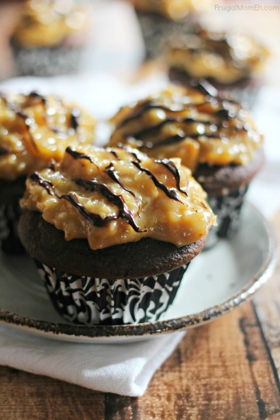 German Chocolate Cupcakes are a delicious chocolate dessert you will find yourself baking over and over again!