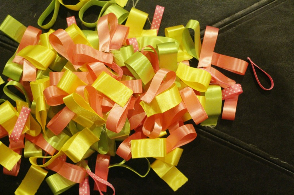 DIY Nursery Ribbon Wreath