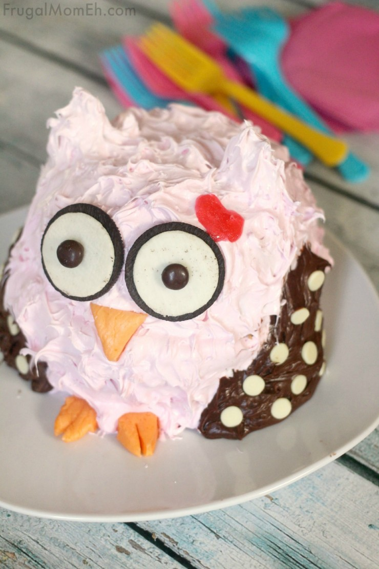 This Owl Smash Cake Is An Adorable First Birthday Perfect For A 1st Party