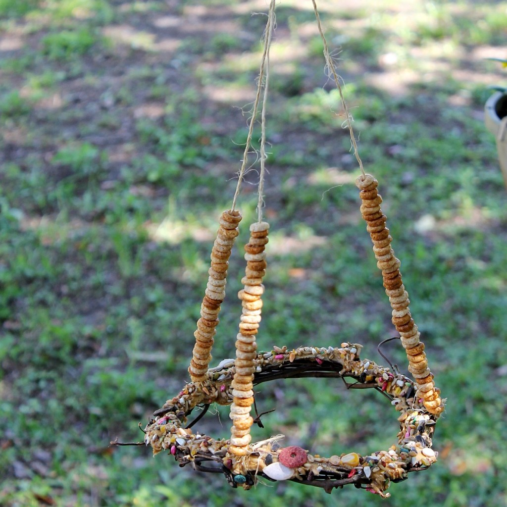 This DIY Bird Feeder Buffet Is A Perfect Kids Craft For The Summer Or  Winter.