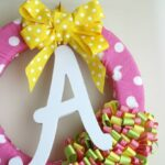 Nursery Ribbon Wreath