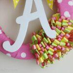DIY Nursery Ribbon Wreath