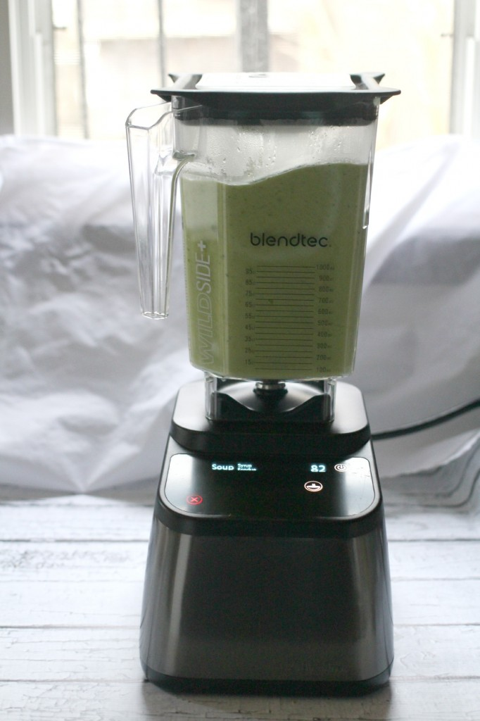 Vegan Creamy Broccoli Soup with the The Blendtec Designer 725