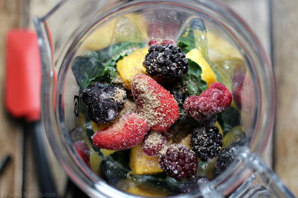 Kale, Pineapple & Chia Seed Smoothie
