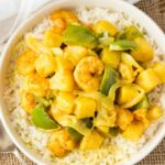 Curry Shrimp with Pineapple