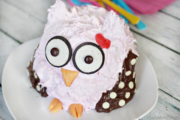 Owl Smash Cake (Updated)