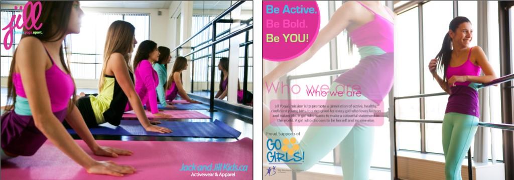 Jill_Yoga_Girls_Postcard_Go_Girls