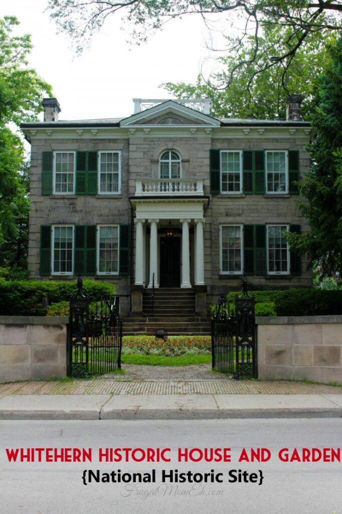 Whitehern Historic House and Garden National Historic Site - pinterest