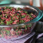 Blueberry & Quinoa Salad with Flax Lemon Vinaigrette