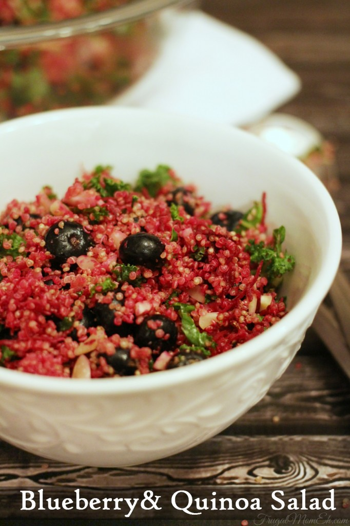 Blueberry & Quinoa Salad