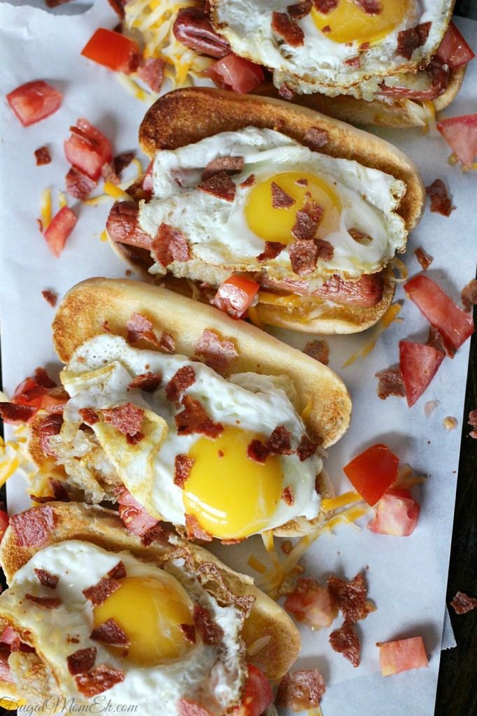 The Ultimate Breakfast Hot Dog - Frugal Mom Eh!
