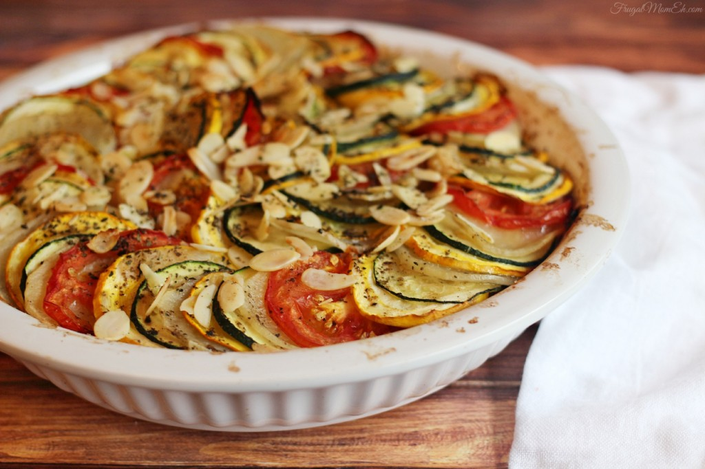 Zucchini, Tomato and Potato Casserole