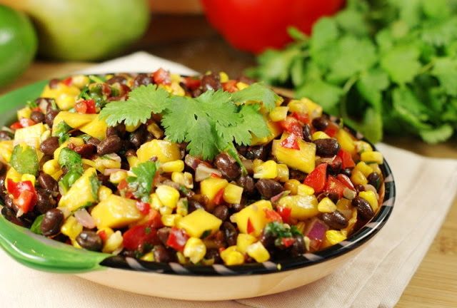 Roasted Corn-Mango Salsa 12