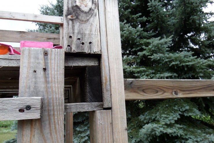 Upcycled Shipping Crate Playscape