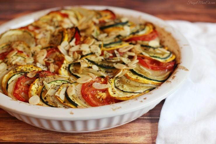 Zucchini, Tomato and Potato Casserole