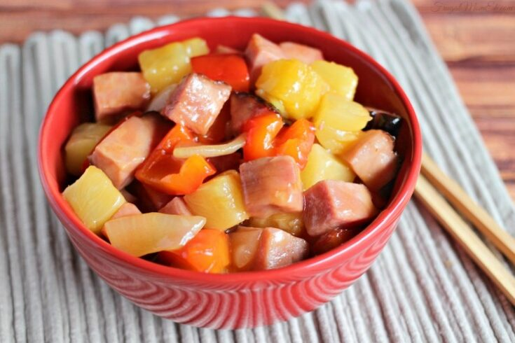 15 Minute Sweet and Sour Pork