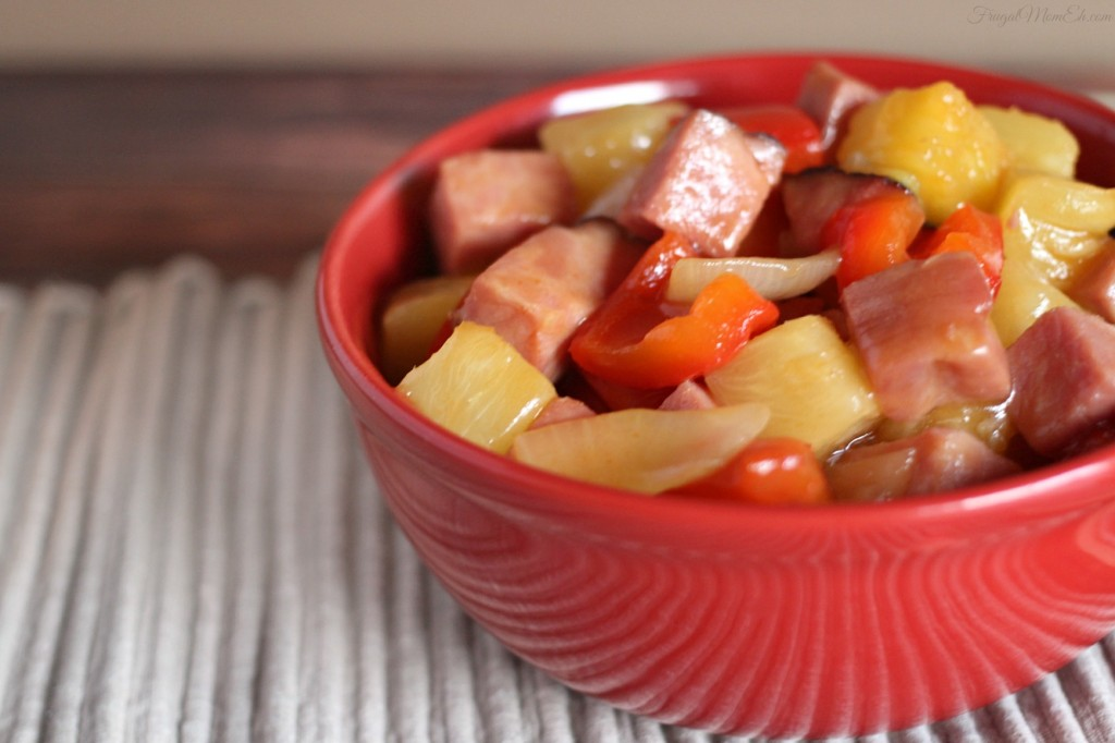 15 Minute Sweet & Sour Pork