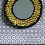 Thrifty & Chic Sunburst Mirror