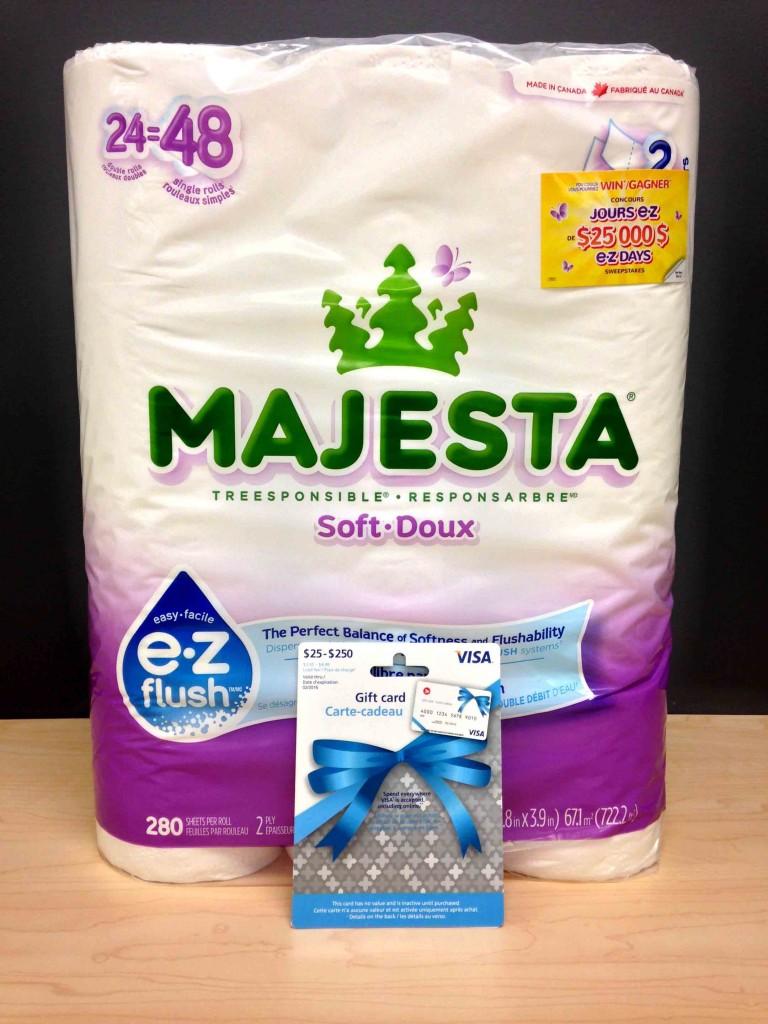 The MAJESTA e•z flush