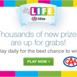 The GAME OF LIFE – CAA Edition is back!  #CAAGOL
