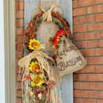 Autumn Décor with Repurposed Fence Boards
