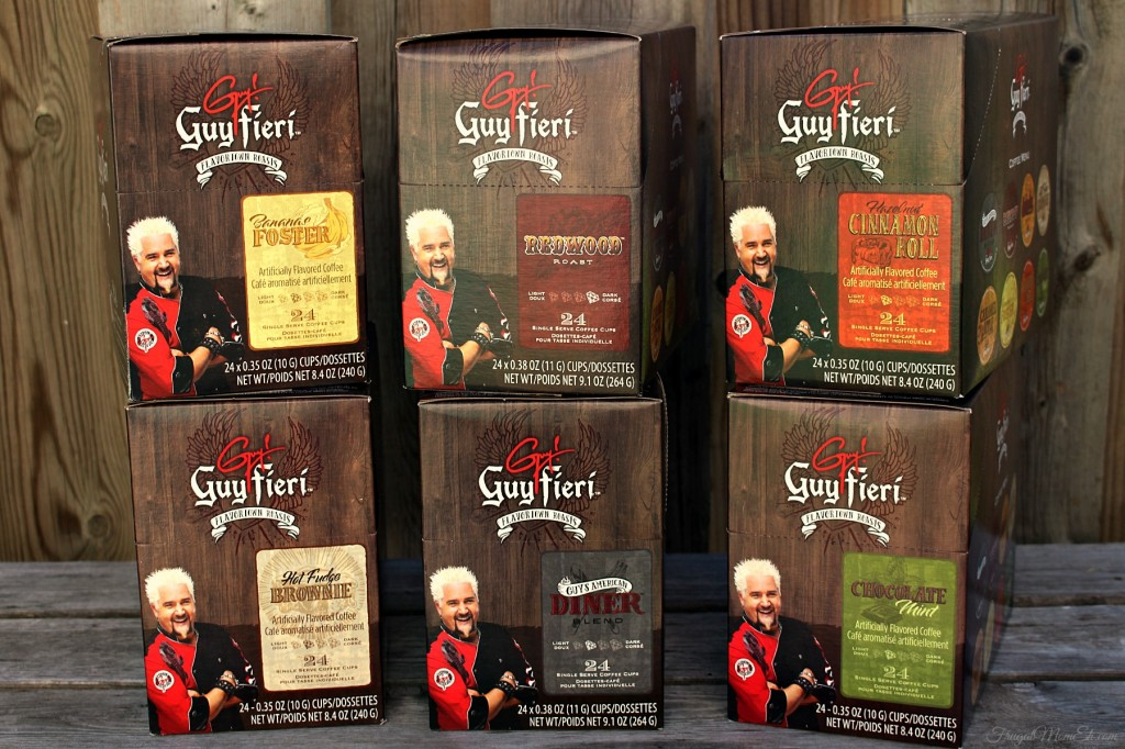 Guy Fieri Keurig®-compatible Single Serve Coffee Cups