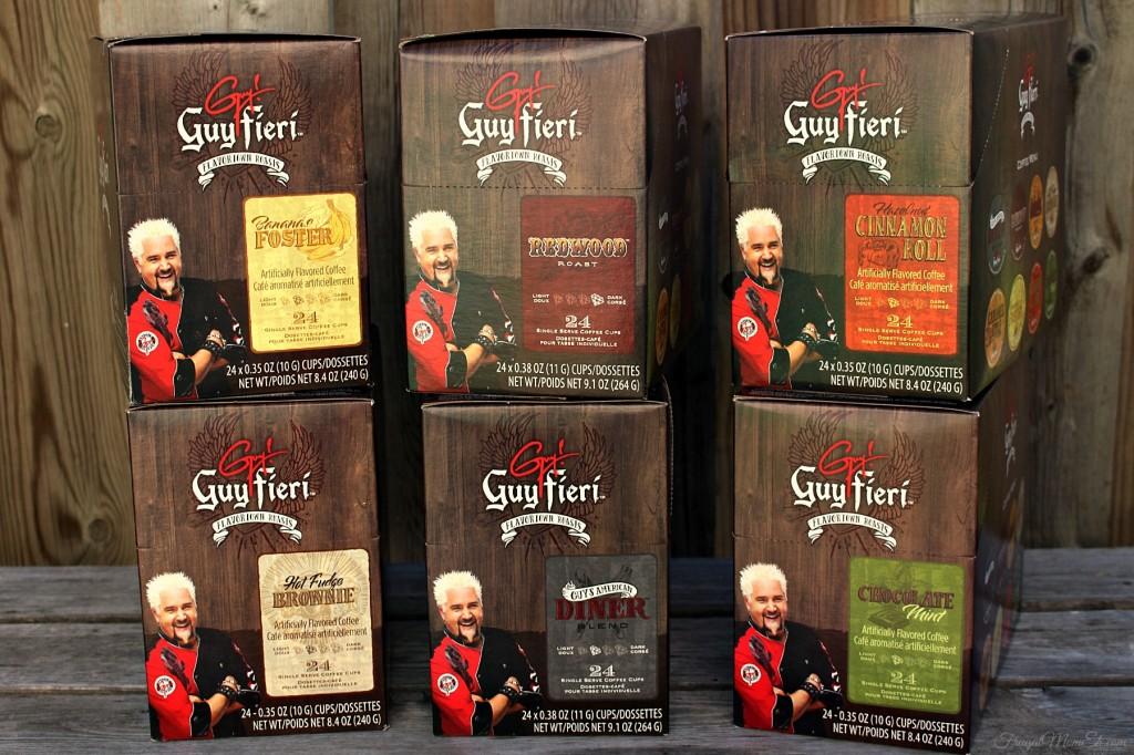 Guy Fieri Keurig®-compatible Single Serve Coffee Cups
