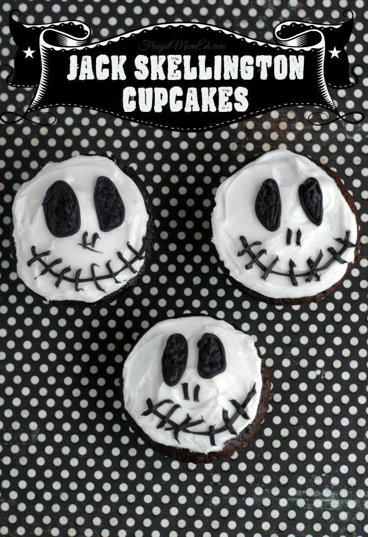 Jack Skellington Cupcakes  Frugal Mom Eh