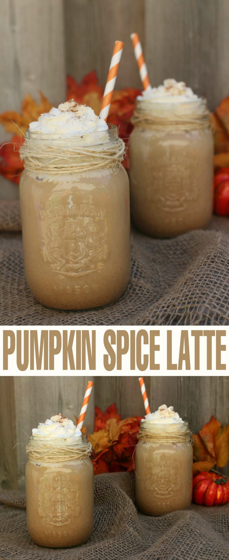 This Pumpkin Spice Latte is a classic fall beverage that can be enjoyed both hot and cold!