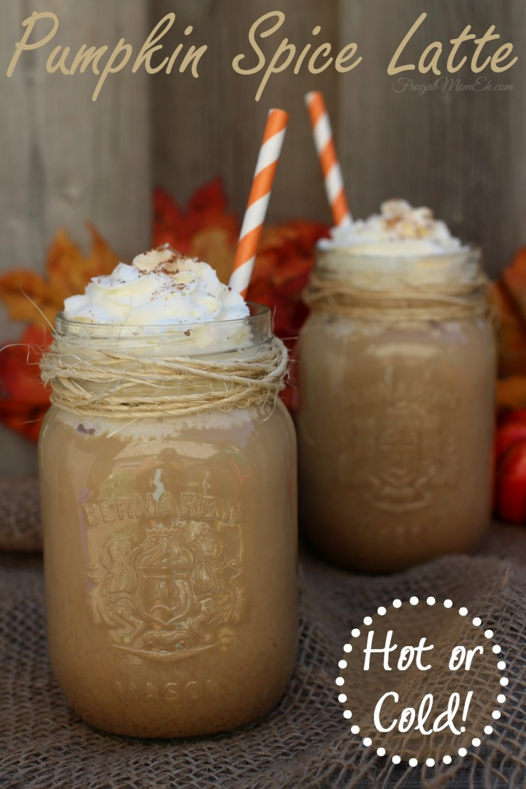 Pumpkin Spice Latte - Frugal Mom Eh!