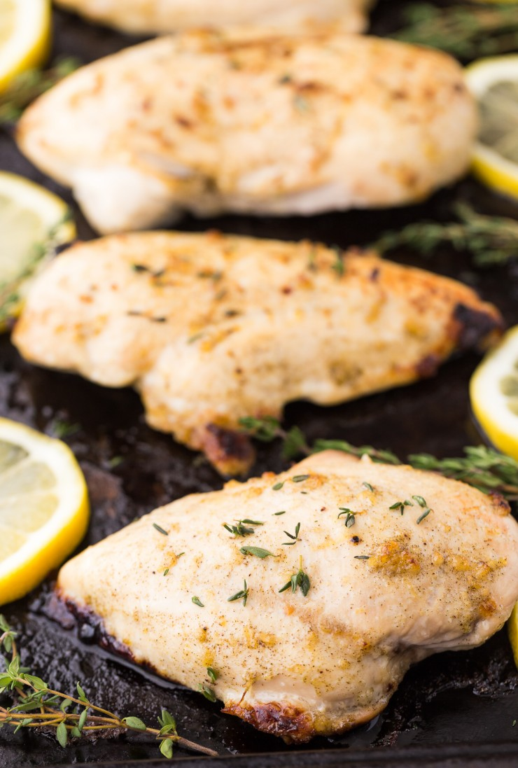 This recipe for Lemon-Thyme Chicken is a favourite bbq recipe in both my own home and at my parents.  If you don't have a grill, this recipe can easily be broiled. Serve with fried rice and veggies for a delicious meal that will definitely get put into rotation with your own family!