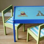 Kids Table and Chairs Makeover
