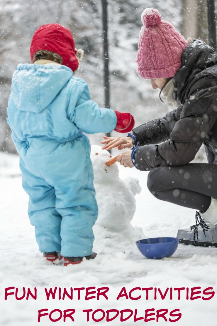 These Fun Winter Activities for Toddlers will get you out in the snow having the time of your lives!