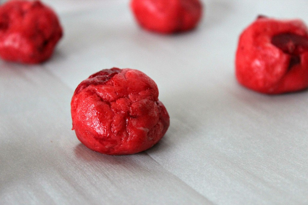 Cherry Chocolate Kiss Cookies - Frugal Mom Eh!