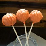 Pumpkin Cake Pop Tutorial