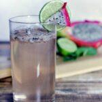 Dragonfruit Mock Mojito Recipe