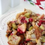 Cranberry Apple Walnut Dressing