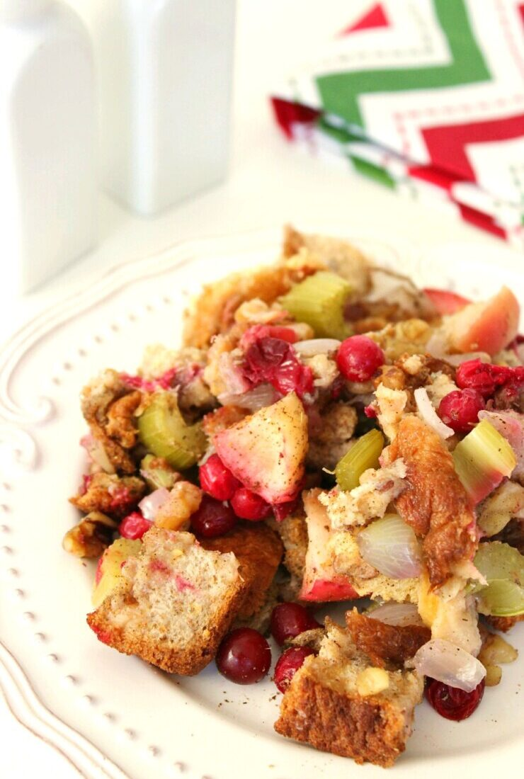 Cranberry Apple Walnut Dressing