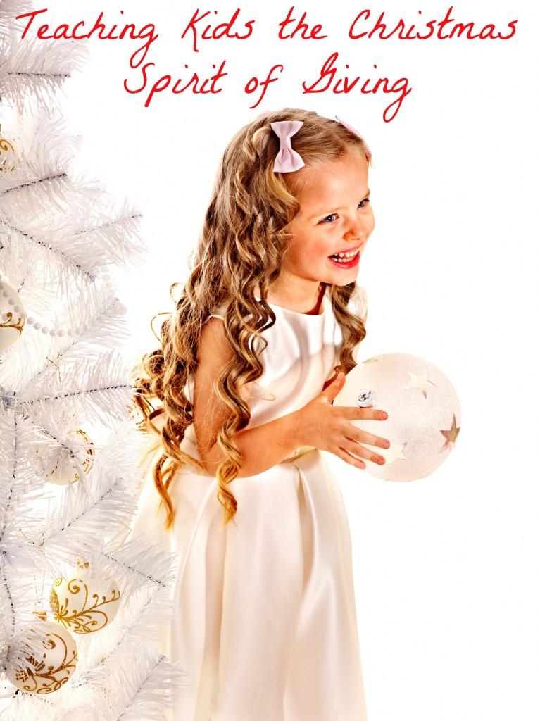 Teaching Kids the Christmas Spirit of Giving
