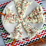 White Chocolate Christmas Trees