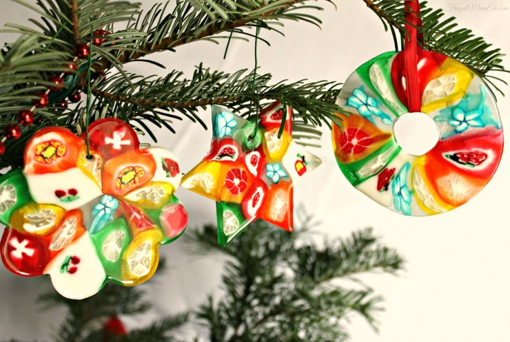 christmas candy ornaments - Candy Christmas Ornaments